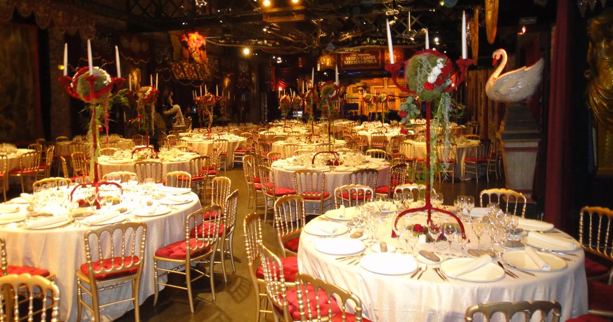 Repas assis traiteur Paris